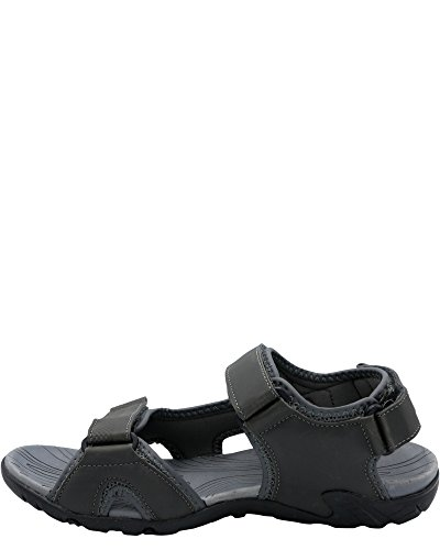 London Fog Mens Sailor Fisherman Sandals Grey 27CUwKcpOr