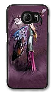 Dragon Whisperer Fairy Custom Samsung Galaxy S6/Samsung S6 Case Cover Polycarbonate Black