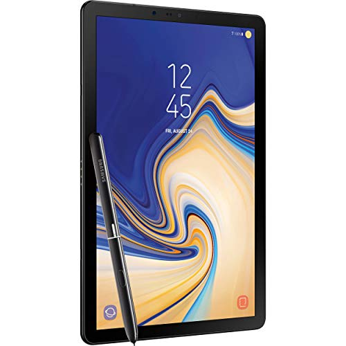Samsung Galaxy Tab S4 10.5in (S Pen Included) 64GB, Wi-Fi, Verizon, Tablet - Black (Renewed)