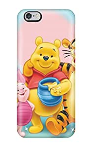 Iphone 6 Plus Hard Back With Bumper Silicone Gel Tpu Case Cover Winnie Pooh