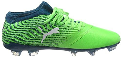 2 Profond Puma Chaussures Verts Blanc Fg Vert Et Soccer Hommes gecko 18 One puma Pour De Lagon 6rnqarEx