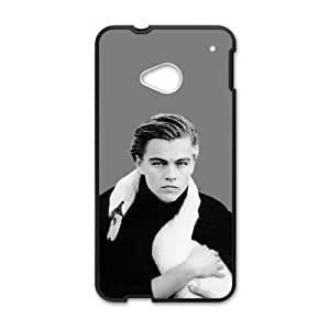 HTC One M7 Cell Phone Case Black Leonardo Dicaprio DIY Football Phone Cases