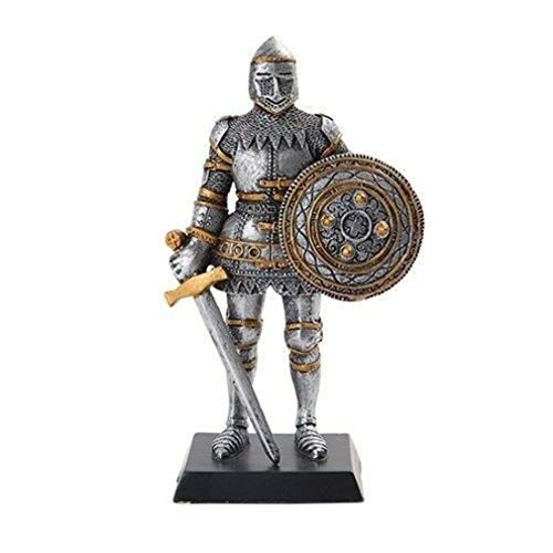 - YK Medieval Knight Decorative Figurine Standing Statue Small 5