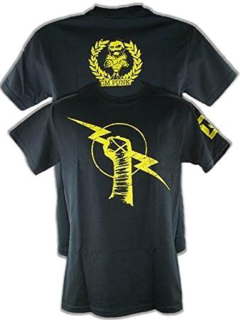Unbekannt T Shirt Cm Punk Uprising Nexus Retro Bis 5xl Amazonde