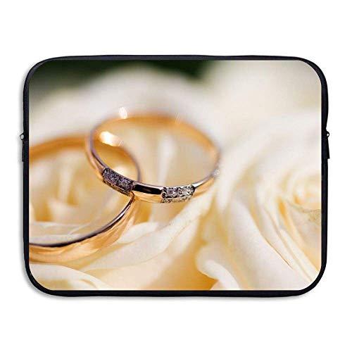 (Water-Resistant Laptop Bags Diamonds Rings Ultrabook Briefcase Sleeve Case Bags)