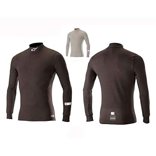- Alpinestars 4754518-10-XL Race V2 Top, Black, Size XL, SFI 3.3 /FIA 8856-2000