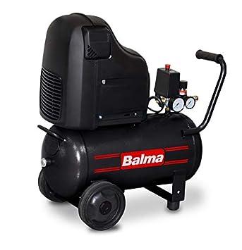 balma Compresor mf20, 24 L, oil-free, HP, 8 Bar: Amazon.es: Bricolaje y herramientas