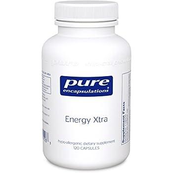 Pure Encapsulations - Energy Xtra - Energy-Promoting Adaptogen Formula* - 120 Capsules