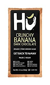 HU KITCHEN CHOCOLATE BARS 2.1 OZ Crunchy Banana pack of 6