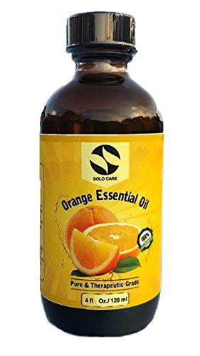 4 Fl  Oz Orange Essential Oil   Natural  100 Pure  Therapeutic   Pharmaceutical Grade  Lowest Price Guaranteed