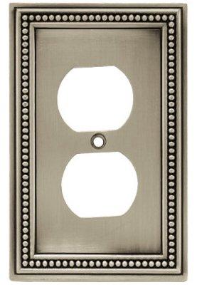 BRAINERD MFG/LIBERTY HDW W10103-BSP-U Pewt Bead 1G DPLX Plate