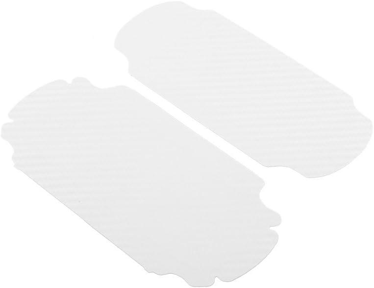 Beautyrain Blanc Protecteur de la Peau Carbon/_Fiber Autocollant Housse de Protection Autocollant pour Sony Playstation PS Vita/_PSV 1000 Console Vinyle