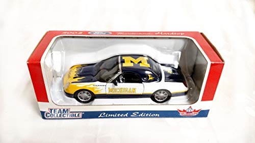 University of Michigan Wolverines 2002 Ford Thunderbird Limited Edition Die Cast Collectible