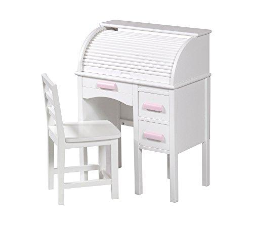 Jr Rolltop Desk White