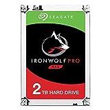 Seagate IronWolf Pro 2 TB NAS RAID Internal Hard Drive - 7,200 RPM SATA 6 Gb/s 3.5-inch - Frustration Free Packaging (ST2000NE0025)