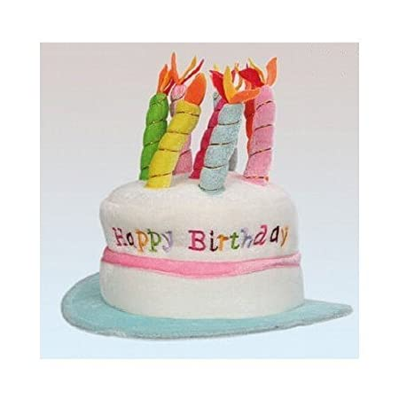 Happy Birthday Hat With Candles Assorted Colours By Otherland Amazoncouk DIY Tools