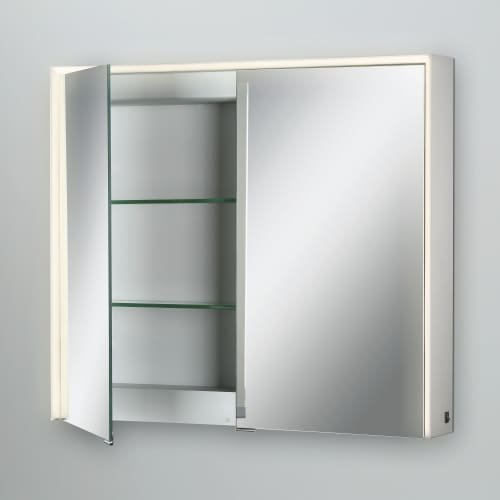 Eurofase Mirror Cabinet Edge-Lit LED Double Door, 28 Inches High by 32 Inches Wide-Model 31485-012 by Eurofase
