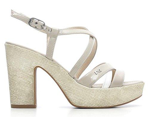 701 Giardini P615632d Sandalo Con Nero Donna Scarpe TaccoTacco MLSpUVGqz