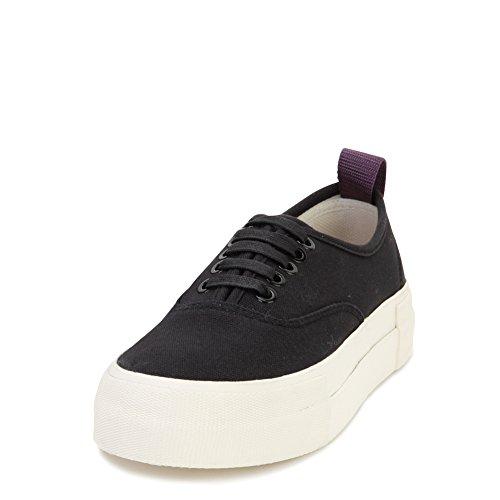 Eytys Unisex Fashion Sneakers MOTHERCANVAS Black Size EU 37