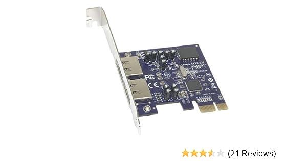 Carte PCIe eSATA /à 2 ports Tempo SATA E2P Sonnet Technologies