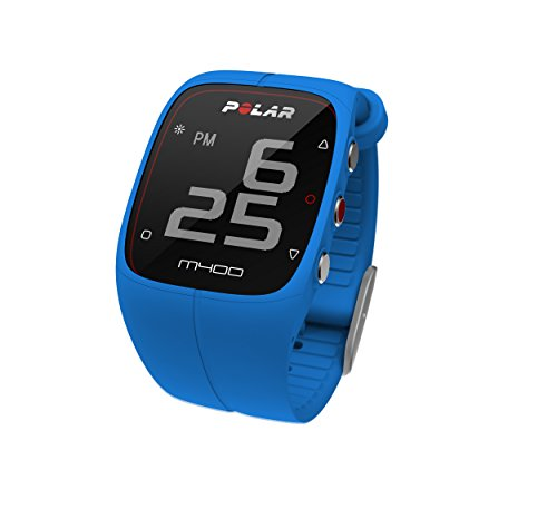 Polar M400 GPS Smart Sports Watch with Heart Rate Monitor (Blue) by Polar (Image #2)