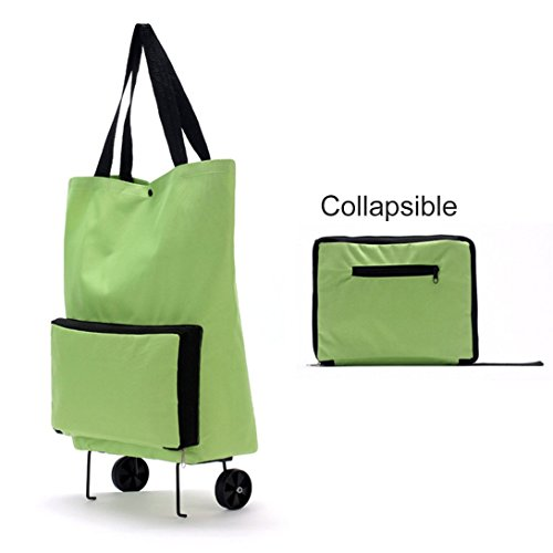 Shopping Wheel Thickened Large Bag Foldable Lightweight Swiftswan Trolley Canvas wHqTRzCwnX
