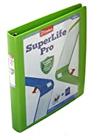 Cardinal SuperLife Pro Easy Open ClearVue Locking Slant-D Ring Binder, 1.5 Inch, Green (54421)