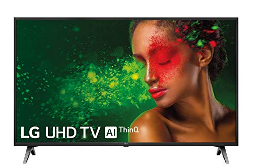 LG 43UM7100PLB – Smart TV 4K UHD de 108 cm 43″, (procesador Quad Core, HDR y Sonido Ultra Surround) color negro