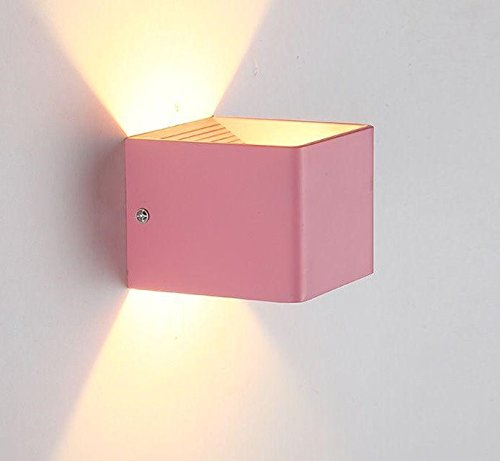 SISANLAI Up Down Wall Lights Head Of Bed Bedroom Wall Lights ...