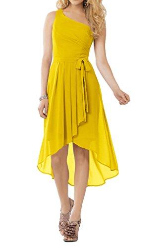 Promgirl House - Robe - Trapèze - Femme -  jaune - 48