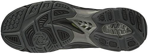 メンズ バレーボールシューズ ウエーブライトニングZ5 15周年限定 ブラック×ダークグレー V1GA1901 97