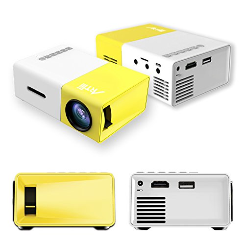 Smartphone projector artlii micro iphone pocket pc video for Micro portable projector