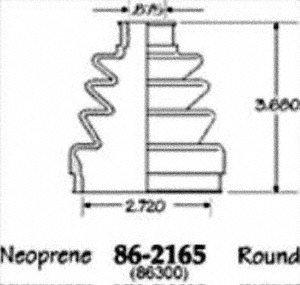Empi 86-2165D CV Boot Kit