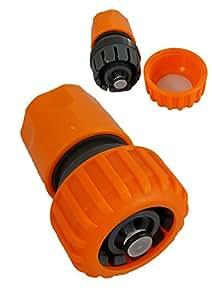1000Liter '1pieza 3/4Conector de manguera con agua stop Gardena compatible