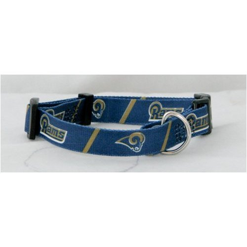 HUNTER St. Louis Rams NFL Licensed Small Dog/Cat Pet Collar