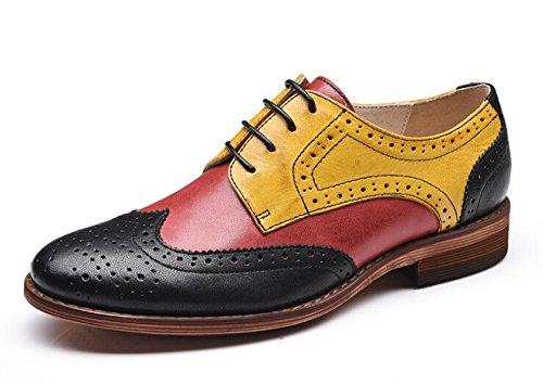 Oyangs Oxford Donne Oxford Scarpe Oxford Tacchi Scarpe Oxford Per Scarpe Di Cuoio Donne E215 D