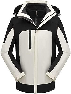 YWZQ Chaqueta de esquí de montaña para Hombre, Impermeable A ...