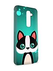 Case Fun Case Fun French Bulldog by DevilleART Snap-on Hard Back Case Cover for LG G2