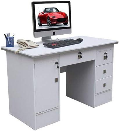Esquina escritorio de ordenador, ordenador estación de trabajo, PC ...