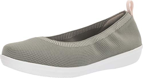 CLARKS Women's Ayla Paige Dusty Olive Knit 9 Wide US