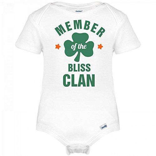 Bliss Onesie (St. Patrick's Member Of The Bliss Clan: Infant Gerber Onesies)