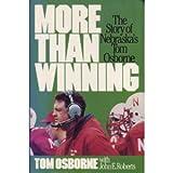 More Than Winning, Tom Osborne and John E. Roberts, 0840754728