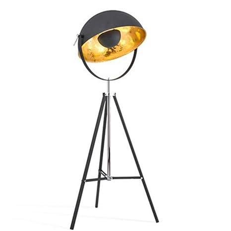 Lámpara de pie Fotografía de estilo retro industrial Pote ...