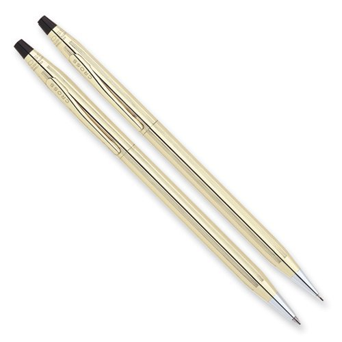 Cross Classic Century 10k Gold-filled/rolled Ball-point Pen & 0.5mm Pencil Set