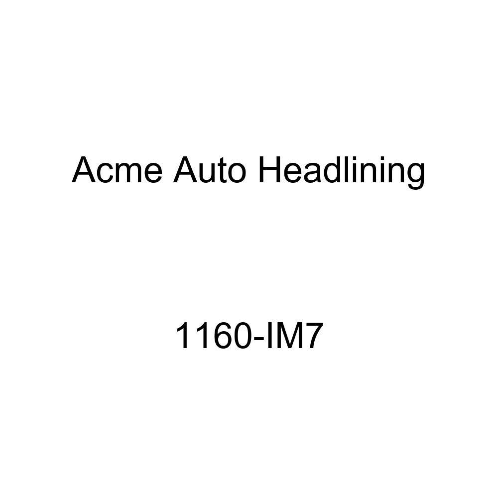 1955 Buick Century 4 Door Riviera Sedan 8 Bows, 3 Chrome Acme Auto Headlining 1160-IM7 Ginger Replacement Headliner