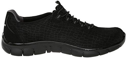 Pretty Appeal City Skechers Sportives Noir Baskets bkhp Femme Flex w16x4qU