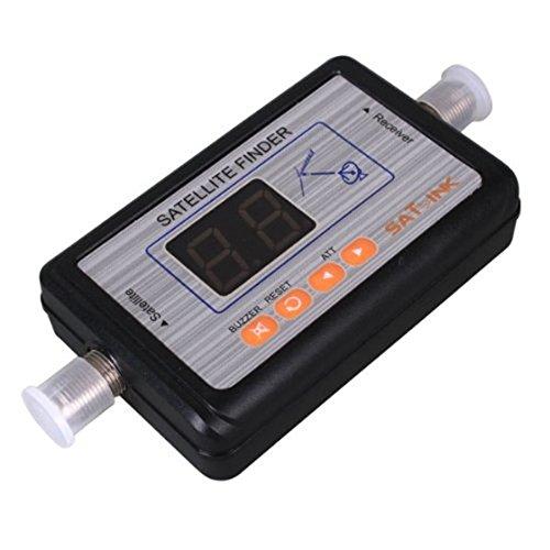 SODIAL(R) WS-6903 Digital Satellite Finder Meter LCD Display TV Signal Finder
