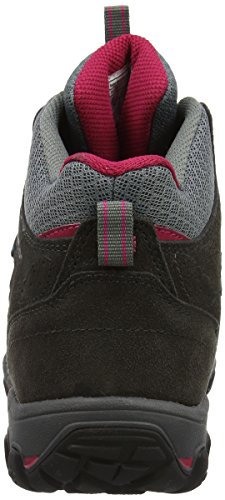 Karrimor Bodmin Mid 5 Ladies Weathertite Uk 4, Zapatos de High Rise Senderismo para Mujer Gris (Dark Grey)