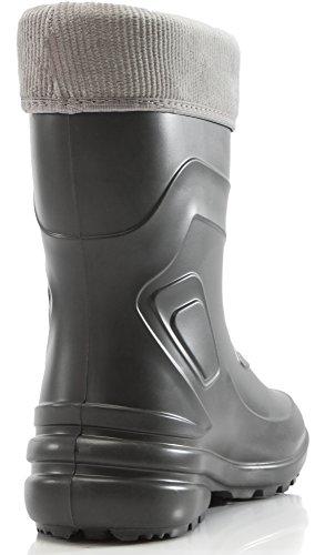 Bottes Couleur Eva Diversité La Pluie gris 800 2017 Graphite Chaussures De Femme Thermo Ladeheid Bottines zxTAzf