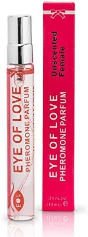 Eye of Love Female Unscented Pheromone Perfume Spray - Confidence & Elegance - Extra Strength Human Pheromones Formula - 10ml
